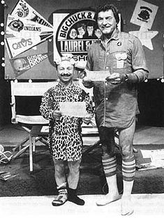 Big Chuck and Lil' John from WJW out of Cleveland.  Their show was began in 1979 and was originally on Friday nights at 11.30PM, then got moved to Saturday nights at 11.30PM.  Their last show was in 2007.  However, John obviously didn't like retirement as the show started up again during the summer of 2011 however, this time it was for Saturday morning at 11AM.