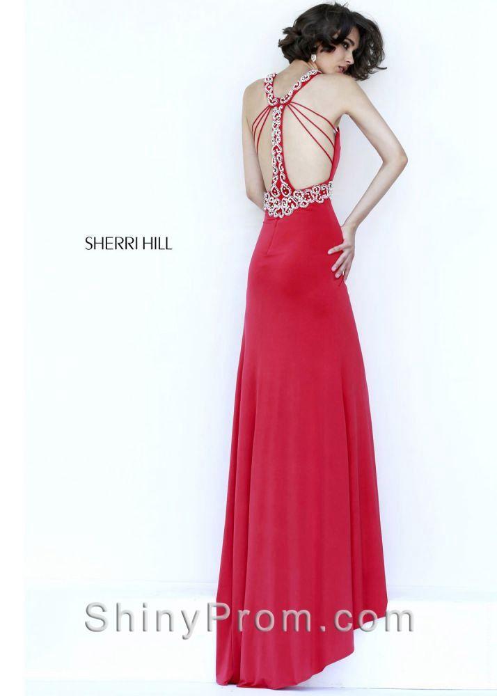 Sherri Hill 8550 Red Dress