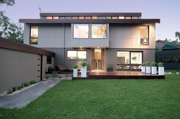 Design & Staging Danni Brown | Sundowner Court | Exterior | Decking | Cladding | Bluestone