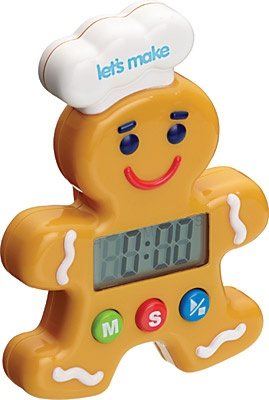 Kitchen Craft Let S Make Gingerbread Man Digital Timer