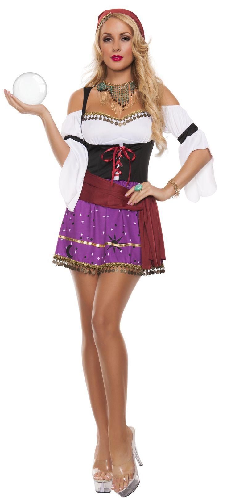 Sexy Gypsy Costume - Fortune Teller Disney Esmerelda – Costume Whore