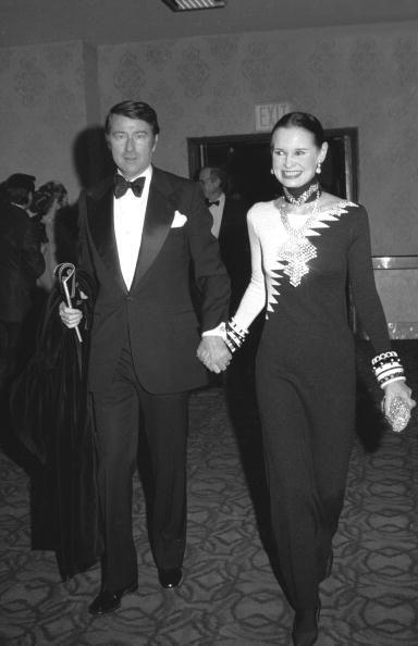 Anderson Cooper's parents, Wyatt Cooper & Gloria Vanderbilt, Cooper's dad was very nice looking
