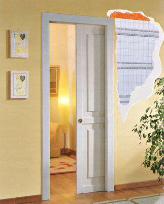 M s de 25 ideas incre bles sobre puertas ocultas en - Puertas correderas empotradas en tabique ...