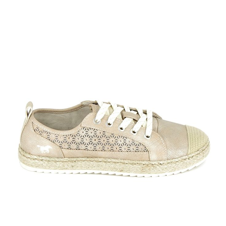 MUSTANG Sneakers 1245202 Taupe
