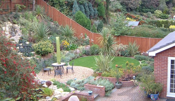 Sloping Garden Design Ideas for Small Garden | Tinsleypic Blog ...