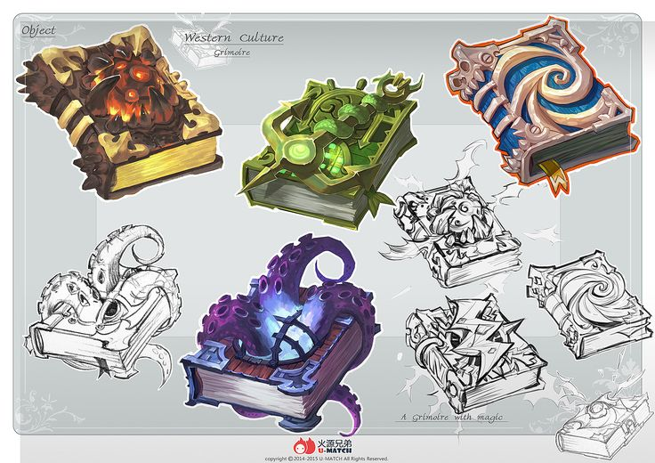 ArtStation - The book design, yiteng luo