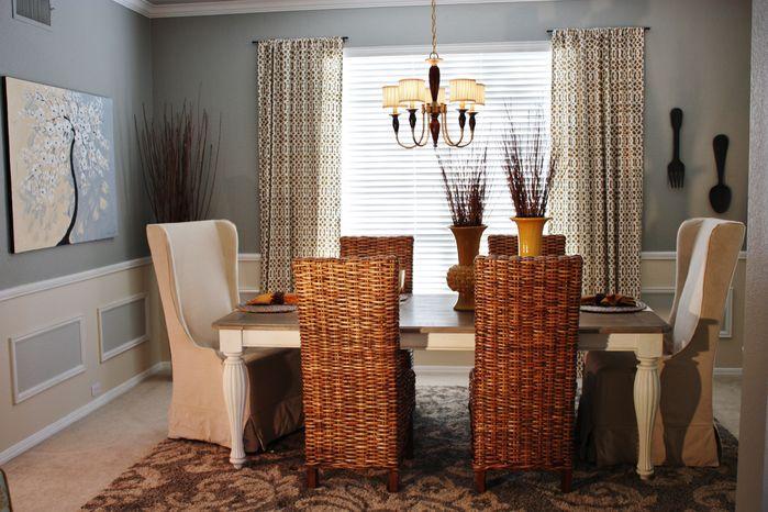Dining room decorating ideas #decor #interiordesign #design #colors #dining
