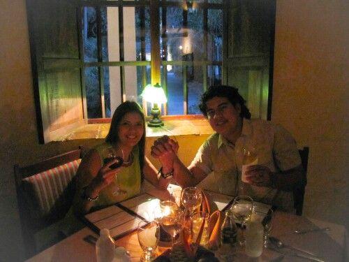 De cena en la Misión Restaurant El Monje