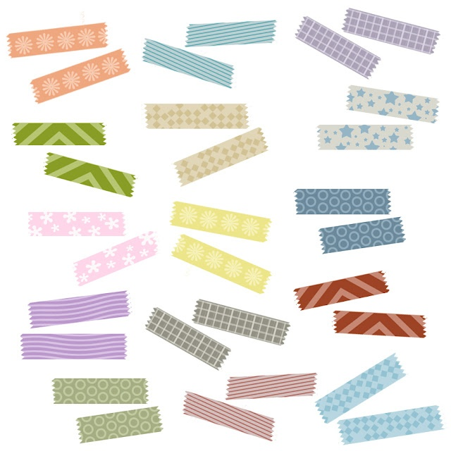 "Free digital ""Washi Tape"""
