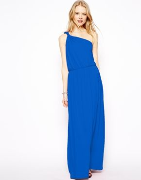 Image 1 of ASOS Maxi Dress With One Shoulder