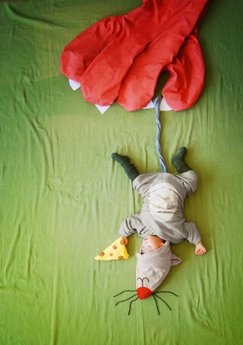 Creative Mom Turns Her Baby's Naptime Into Dream Adventures - 11