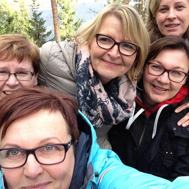 Heimosihteerit Lehmonkärjessä 15.4.2015