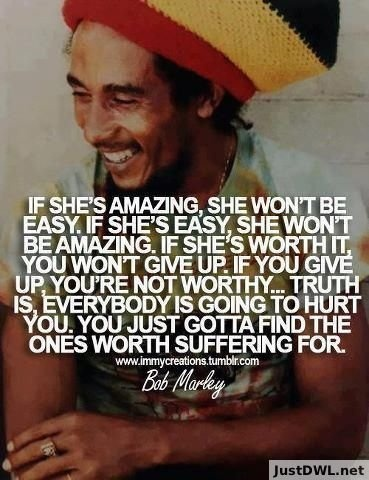Just Love Bob Marley, This quote says a lot  Like+Share #bobmarley