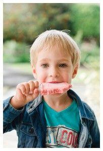 Raspberry Yoghurt Ice Lollie