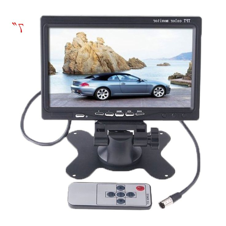 """32.66$  Buy now - https://alitems.com/g/1e8d114494b01f4c715516525dc3e8/?i=5&ulp=https%3A%2F%2Fwww.aliexpress.com%2Fitem%2F7-TFT-LCD-Color-HD-Screen-Display-Monitor-drone-with-camera-For-Car-SUV-Reversing-Parking%2F32779710904.html - """"7"""""""" TFT LCD Color HD Screen Display Monitor  drone with camera For Car SUV Reversing Parking Camera"""" 32.66$"""