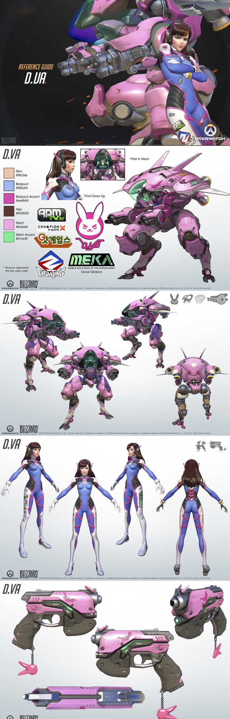 Character Design Kit : Best overwatch d va cosplay ideas on pinterest dva