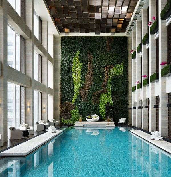 Best 25 indoor pools ideas on pinterest dream pools for Pool design vancouver