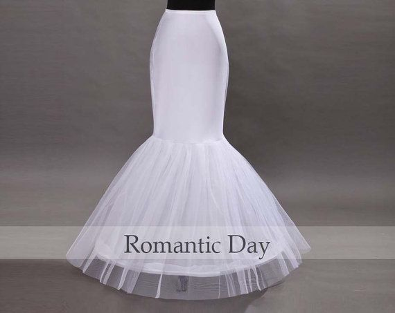 For Under My Dress Add Blue Tulle To It To Make It Puffier White 1 Hoop Bone Mermaid Elastic