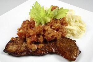 Cajun skinkeschnitzler med pastasauce 4    Cajun