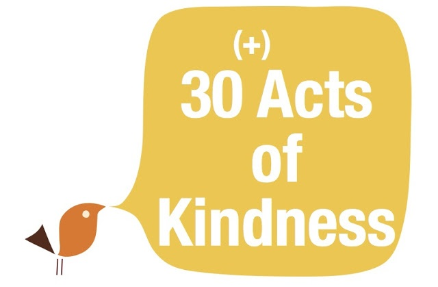 40 Random Acts of Kindness ideas.