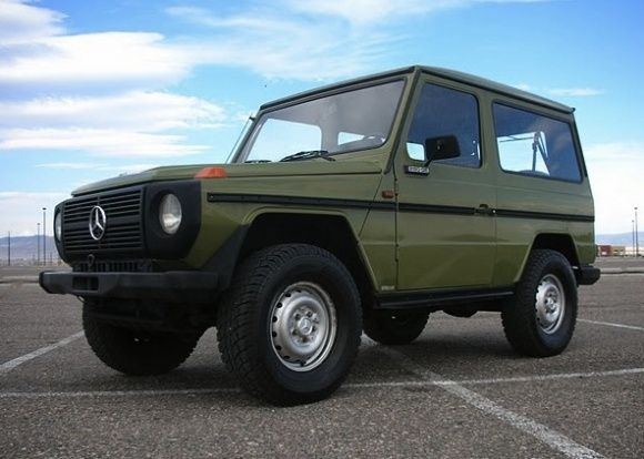 1980 Mercedes Benz G Class w460 4x4 For Sale Front