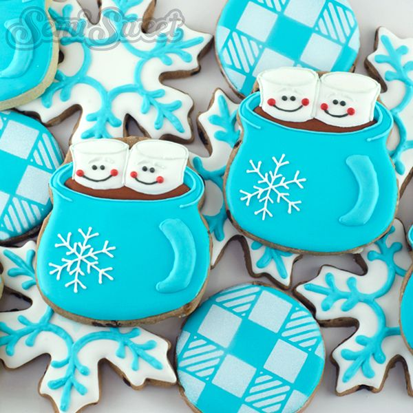 Hot Chocolate Mug Cookies with Semi Sweet Mike (Guest Post) | The Sweet Adventures of Sugar Belle