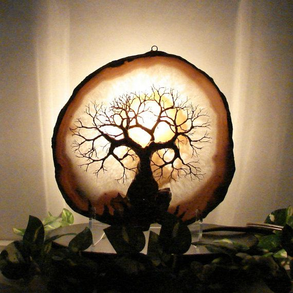 Best lighted lamps wire tree sculptures spheres and