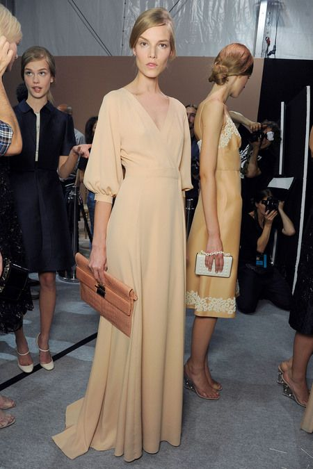 Valentino SS 2013: Backstage Diaries, Nude Dresses, Fashion Shoes, Celebrity Photos, Pale Girls, Spring Summer, Valentine Ss, Models Backstage, Simple Elegant Dresses