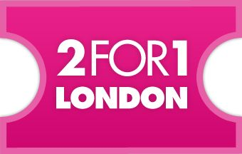 Days Out Guide - 2FOR1 London:  Huge list of 2 for 1 offers available when you travel by train or purchase a London Travelcard!
