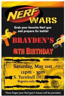 Backyard nerf gun war Big Russ Style! We can use the excuse we are setting