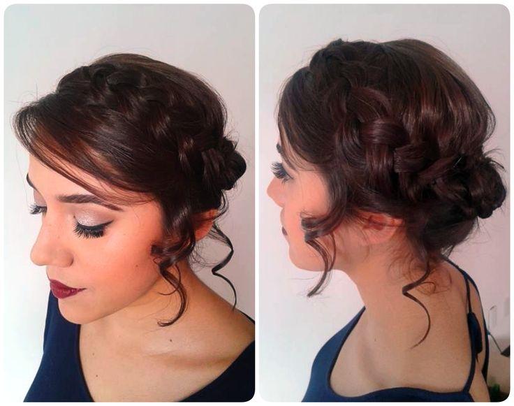 Peinado Corona de trenza Braid Crown Hairdress