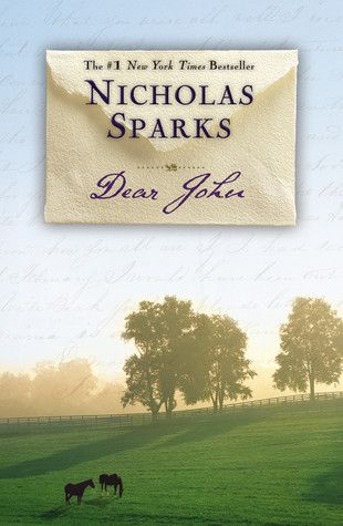 'Dear John' by Nicholas Sparks. My rating: 5/5. Review: https://www.goodreads.com/review/show/468169934?book_show_action=false