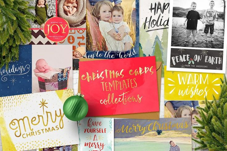 DOWNLOAD:    crmrkt.com/2VOapR A collection of 20 gorgeous Christmas cards templates. Saved as fully layered 7x5 inches psd files. Font names are included in psd files. Each card has...