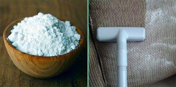 Bien nettoyer un canapé en tissu avec du bicarbonate - Les petits conseils