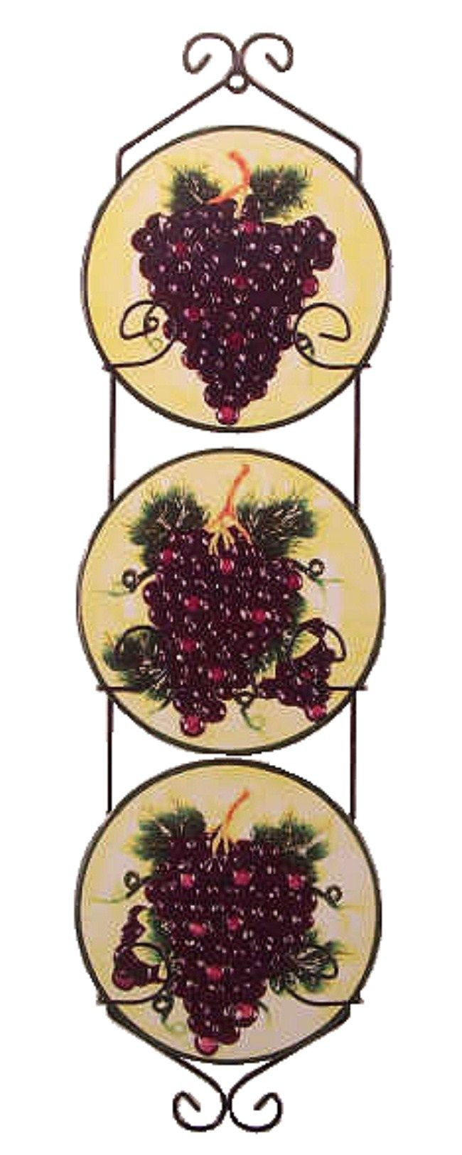grape wall decorations mouse over or click image s to enlarge