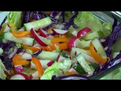 Vegetable Salad - YouTube