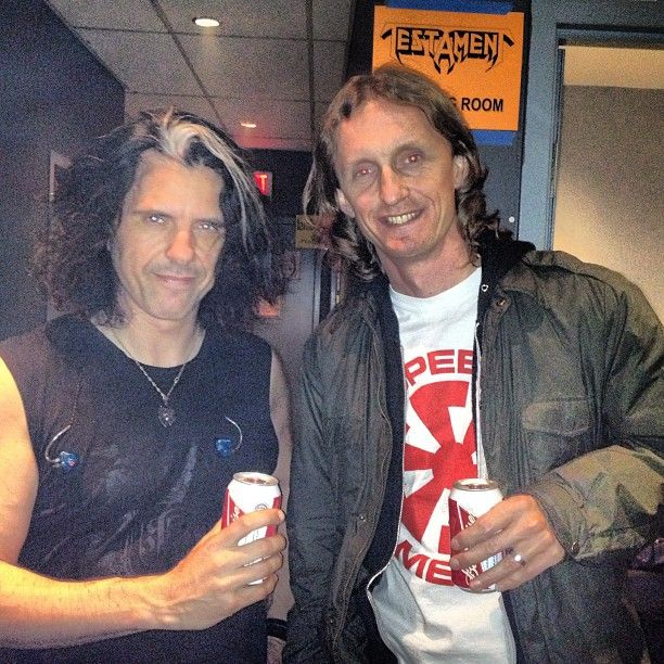 Post show Toronto hang with Sam Dunn, host of the  thought provoking Metal Evolution @BangerFilmsInc