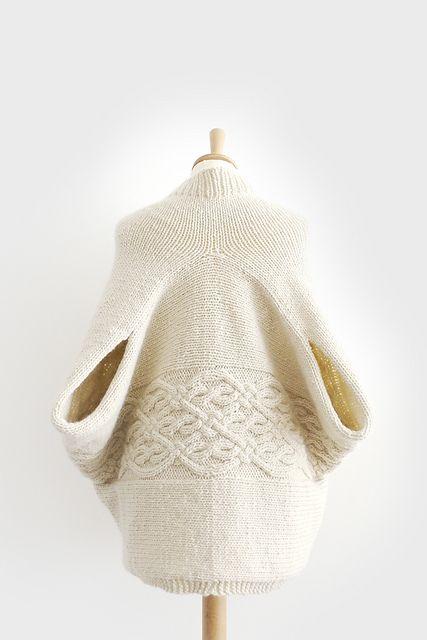 Ravelry: Maku Wrap Cardi pattern by Kyoko Nakayoshi
