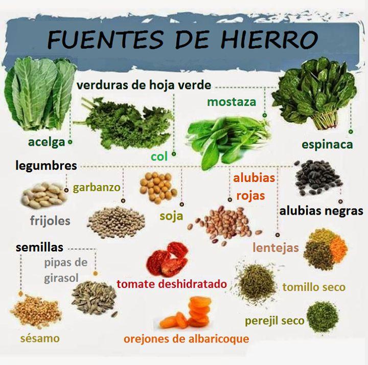 Alimentos vegetales ricos en hierro recetas y alimentaci n vegana pinterest - Alimentos naturales ricos en calcio ...