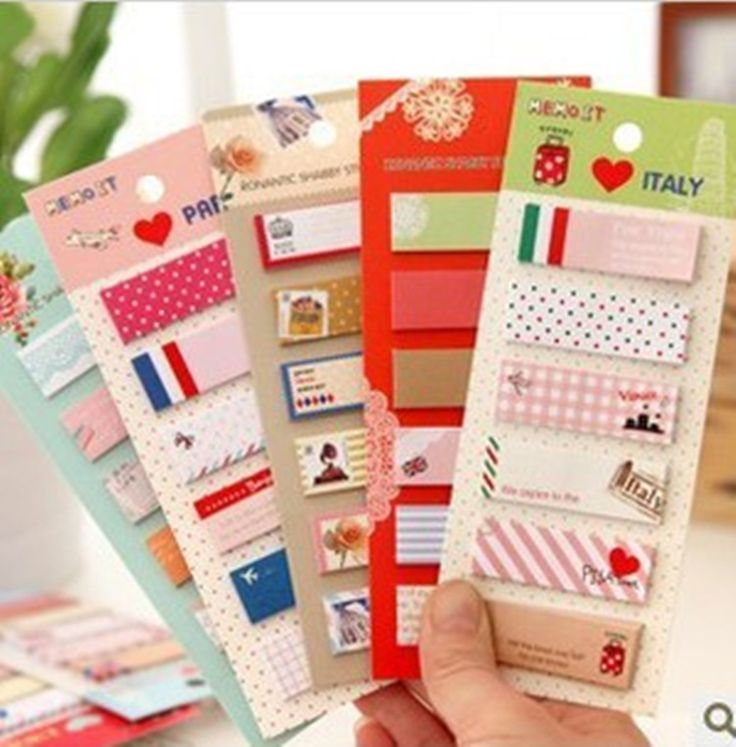 Cute Cartoon N Times Stickers Paper Notes Block Sticky Note Pad Post It Bookmark Point It Marker Flags Memo Pad #Affiliate