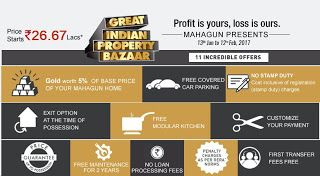 India Property: MahagunPuram Great Indian Property Bazaar at Noida...