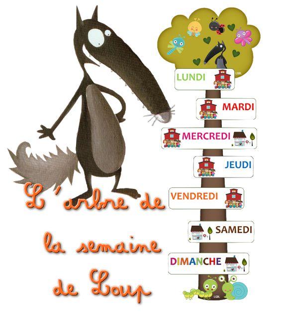 La maternelle de Laurène: L'arbre de la semaine