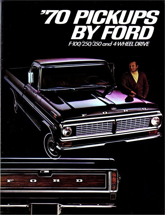 1970 Ford F Series Pick Ups Ad.