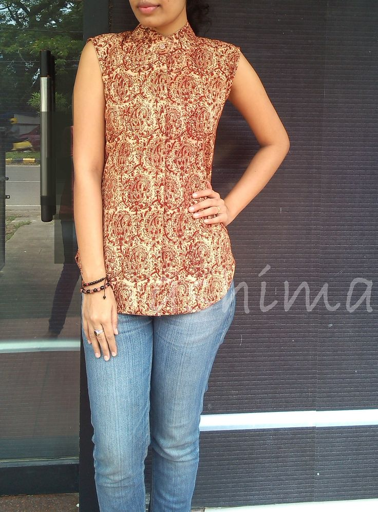 Kalamkari Cotton Short Top-Code:0909151 Price INR:690/- Free shipping to all courier destinations in India. Online payment through PayUMoney / PayPal