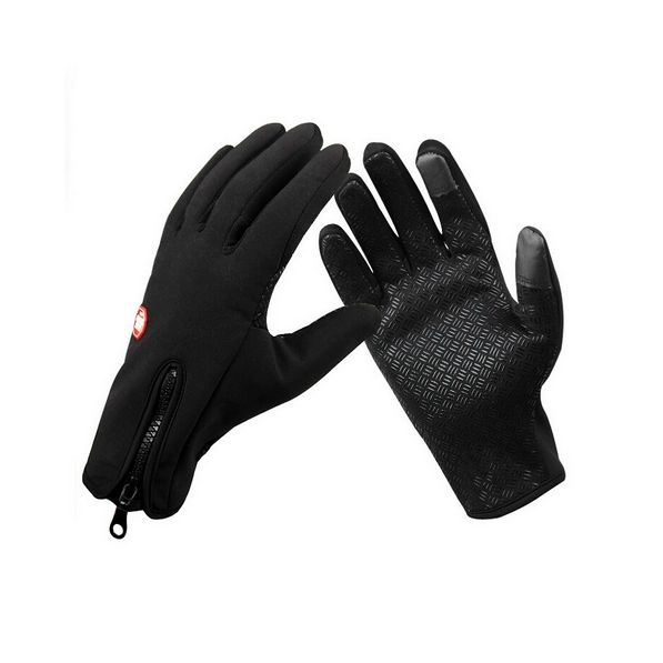 - Touch Screen. Use your smartphone or tablet with the gloves on - Anti-slip. Keep you safe and warm for outdoor activities like cycling, mountain climbing, skiing etc - Waterproof - Fashion Zipper De