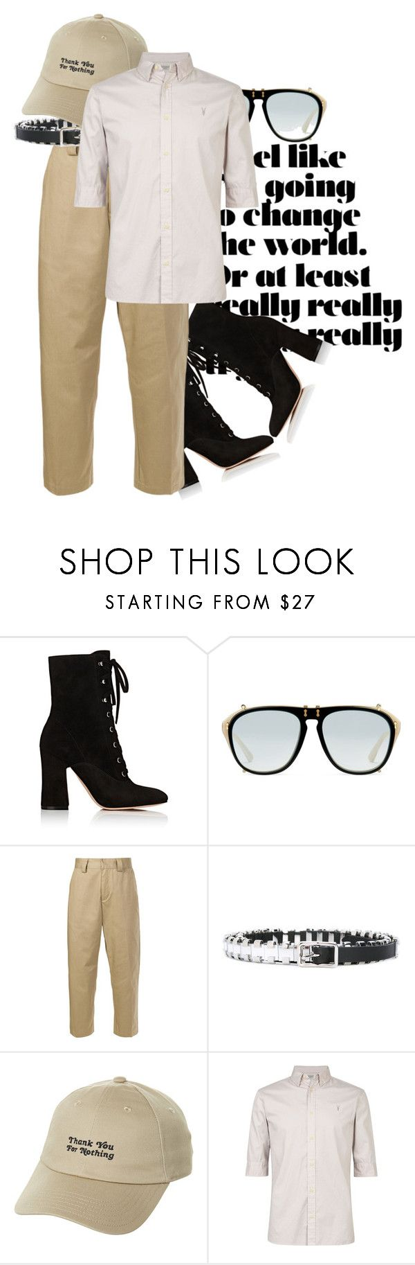 """""""// HEELS // MAN HEELS // MAN"""" by consuelor on Polyvore featuring Gianvito Rossi, Gucci, Stussy, Dsquared2, adidas Originals, AllSaints, men's fashion e menswear"""