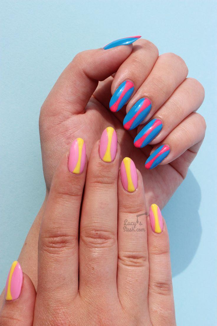 Pop Art Inspired Nail Art & Tangle Teezer x Little Ondine Competition!  http://bit.ly/1S2qSGI