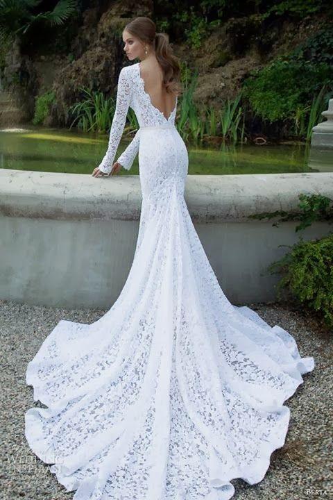 Gorgeous Long Flowy Lace Dresses Trends Weddings