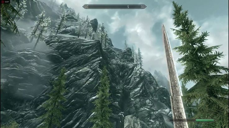 Some Skyrim Gameplay from my New YT channel