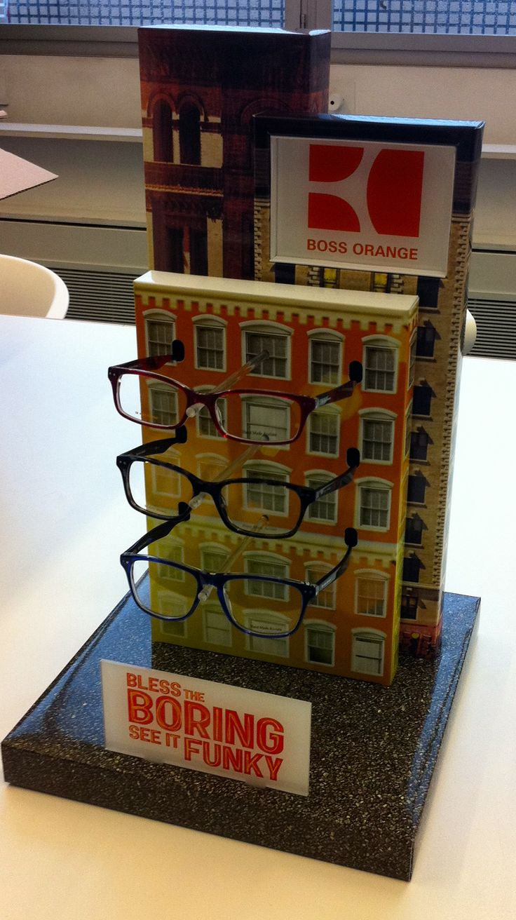 Client: Safilo for BOSS ORANGE Product: Counter Display